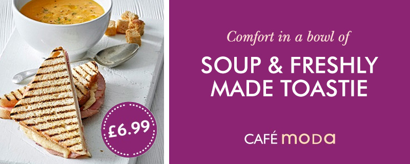 Soup & Freshly Made Toastie